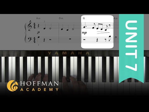 All the Pretty Horses: Melody - Piano Lesson 124 - Hoffman Academy