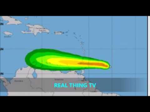 Tropical Storm Don path Hurricane Centre issues alert