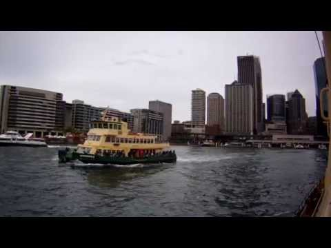 Darling Harbour to Circular Quay, Sydney Harbour Views from the F4 Ferry, NSW, Australia: 21/08/15