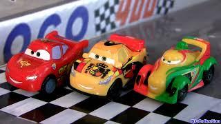Rip Clutchgoneski Micro Drifters Cars Gold Francesco Bernoulli, Miguel Camino, Ramone Sheriff Disney