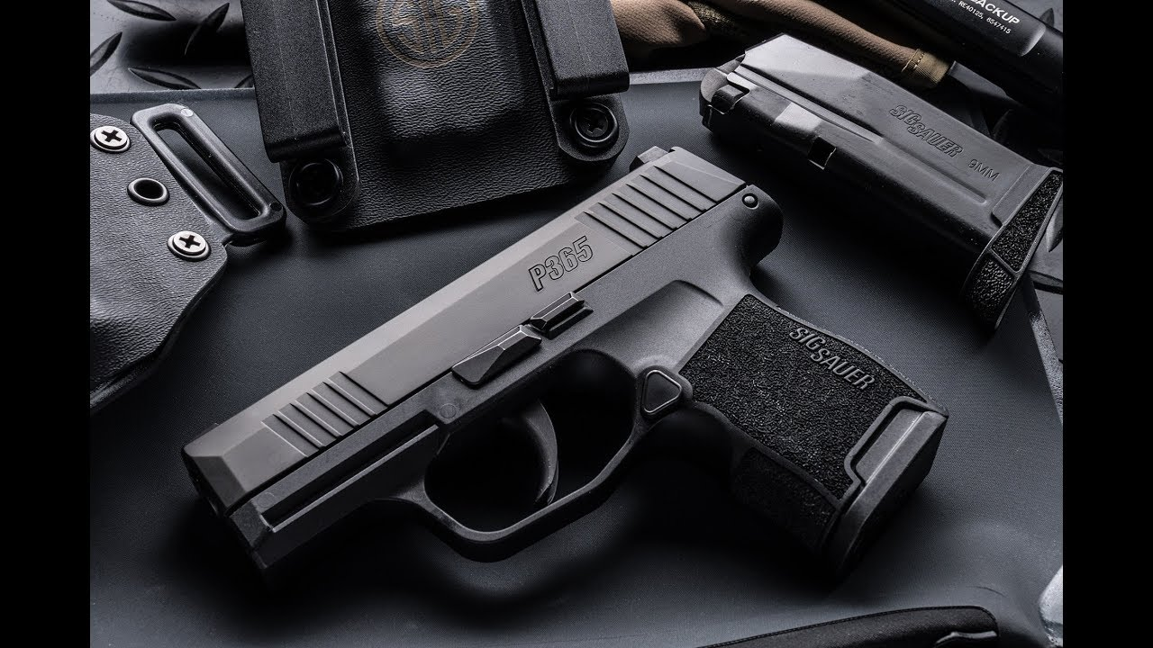 SIG P365 High-Capacity Micro-Compact Pistol