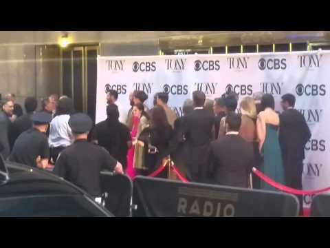 Opening Shot of 2014 Tony Awards, Hugh Jackman Behind the Scenes