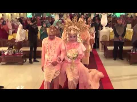 Resepsi Pernikahan Adat Melayu Palembang #dhiAnnida