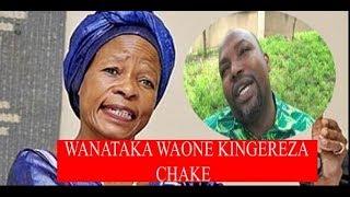 """Tibaijuka arejesha sakata la vyeti Bungeni, Amtolea mfano M.B Lusinde ,""""Tusikie kingereza chake"""""""