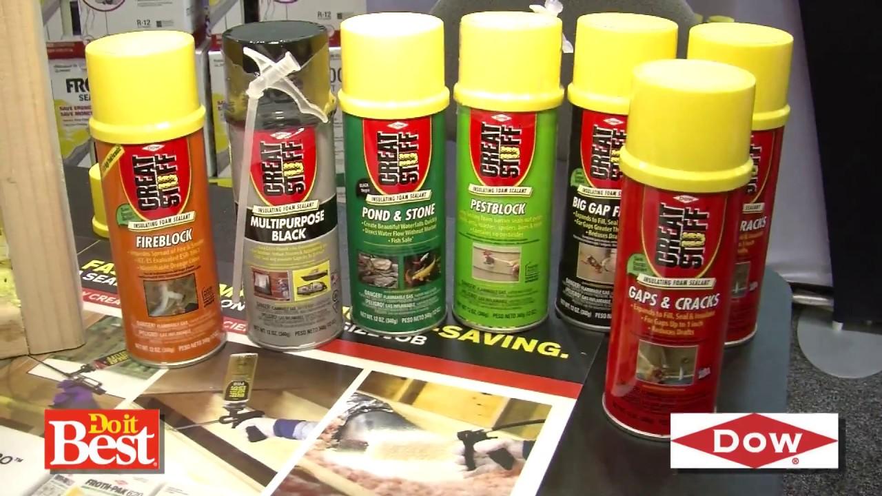 Great Stuff™ insulating foam sealant at Do it Best®