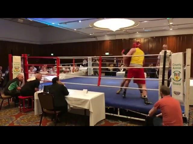 2018 County Antrim Belfast Boxing Classic - Fight 8