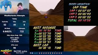 Choco Mountain SC 3lap World Record - 16.38 (NTSC)
