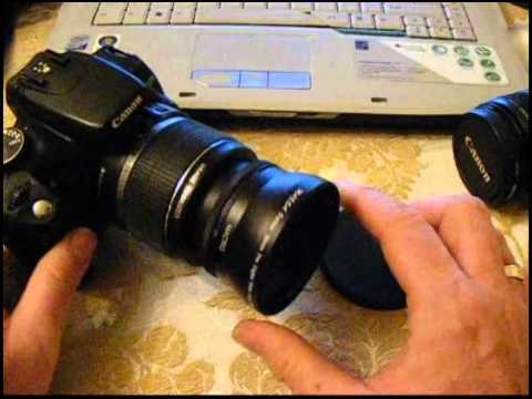 Massa 0.45x Wide Angle / Macro Lens Review For Canon DSLR