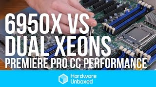 6950X vs. Dual Xeons: Premiere Pro CC Encoding Battle