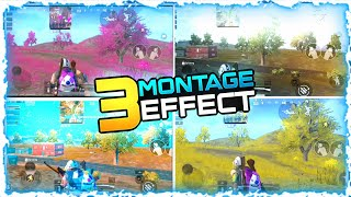 3 Montage Colour Effect In Android & IOS Change Tree And Grash Colour In Kinemaster