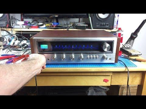 Pioneer SX-434 Vintage Receiver Restoration - YouTube