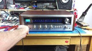 Pioneer SX-434 Vintage Receiver Restoration