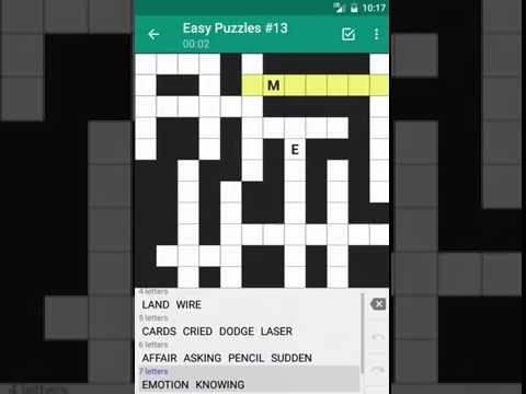 Fill-In Crossword Puzzles - Word game for android