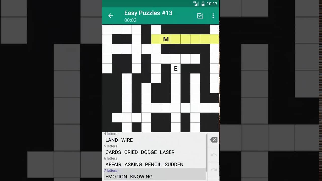 Fill In Crossword Puzzles