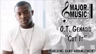 cut it ot genasis marchingpep band sheet music arrangement