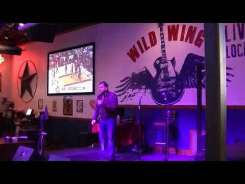 Jimmy Joe karaoke at Wild Wings,Leo Davis,Jimmy G. & others sing..1-17-2017