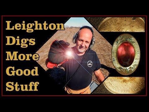 Leighton's Missouri Trip Day 2, Metal Detecting Civil War Relics and Stuff