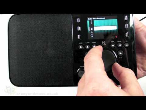 Logitech Squeezebox Radio Unboxing Video