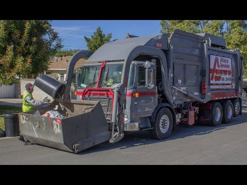 100 Subscribers Special! Athens Services Manual Trash Collections