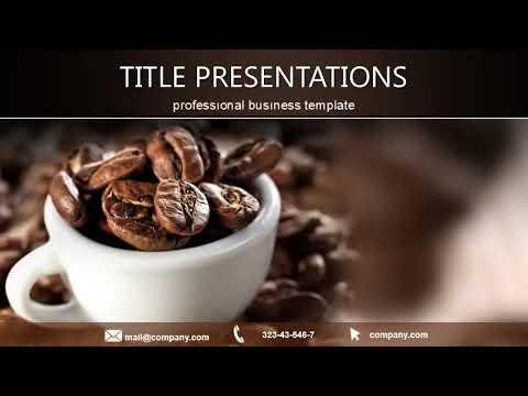Cup of black coffee free keynote template presentation youtube cup of black coffee free keynote template presentation toneelgroepblik Gallery