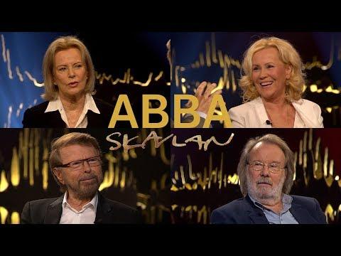 ABBA-medlemmarna I Skavlan