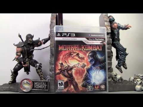 Mortal Kombat 2011 Kollector S Edition For Ps3 Video