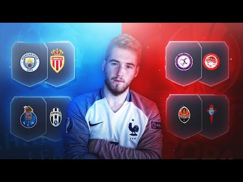 PARTIDOS DE MARQUESINA DE LA CHAMPIONS Y DE LA EUROPA LEAGUE | SBC FIFA 17 | iShadow