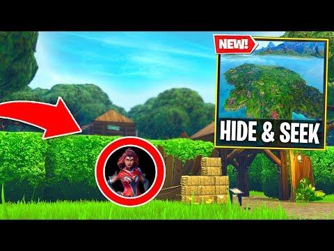 Fortnite BEST Hide & Seek spots! 2000 IQ Hiding SPOT! (Fortnite Battle Royale)