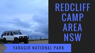 REDCLIFF Camp area Yuraygir National Park NSW Brooms Head