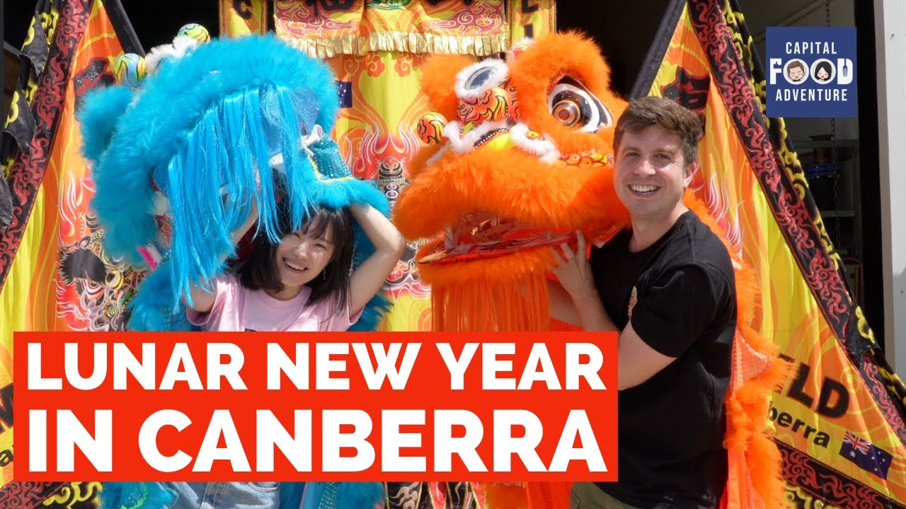 Celebrating Luna New Year in Canberra - Prosperous Mountain Lion Dance