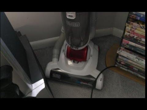 Black And Decker Compact Lightweight Upright Vacuum