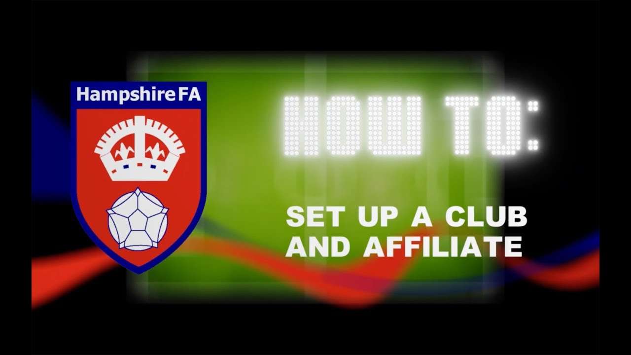 How To: Set Up A Club And Affiliate
