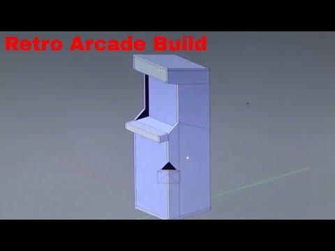 Building a DIY Retro Arcade Cabinet Part 1