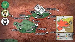 12 марта 2018. Военная обстановка в Сирии. Сирийская армия разбила котел в Восточной Гуте на 2 части