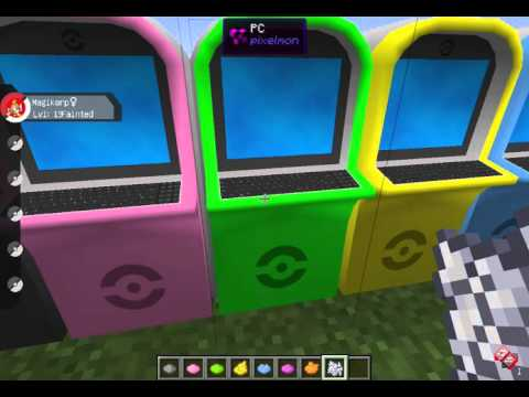 Recipe To Craft A Computer In Pixelmon