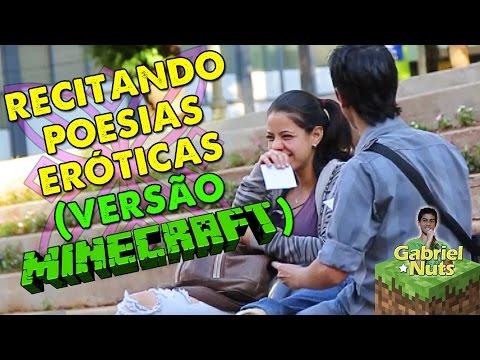 PEGADINHA - RECITANDO POESIAS ERÓTICAS (VERSÃO MINECRAFT)