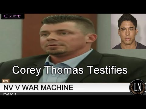 War Machine Trial Day 1 Part 1 (Corey Thomas) 03/06/17