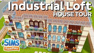 The Sims Freeplay - Industrial Loft [family Home] (original Design)