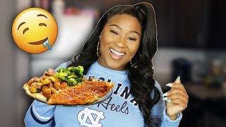 Download HOW TO MAKE OVEN FRIED CHICKEN BREAST! EASY! Mp3 and Videos