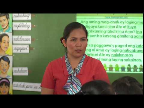 Teaching Demonstration of Filipino in the K to 12 Curriculum