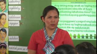 Repeat youtube video Teaching Demonstration of Filipino in the K to 12 Curriculum