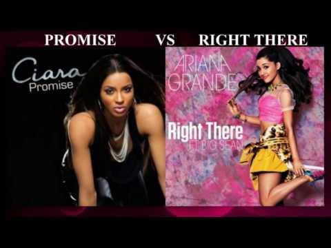 Promise vs Right There - Ciara vs Ariana Grande (Mashup)