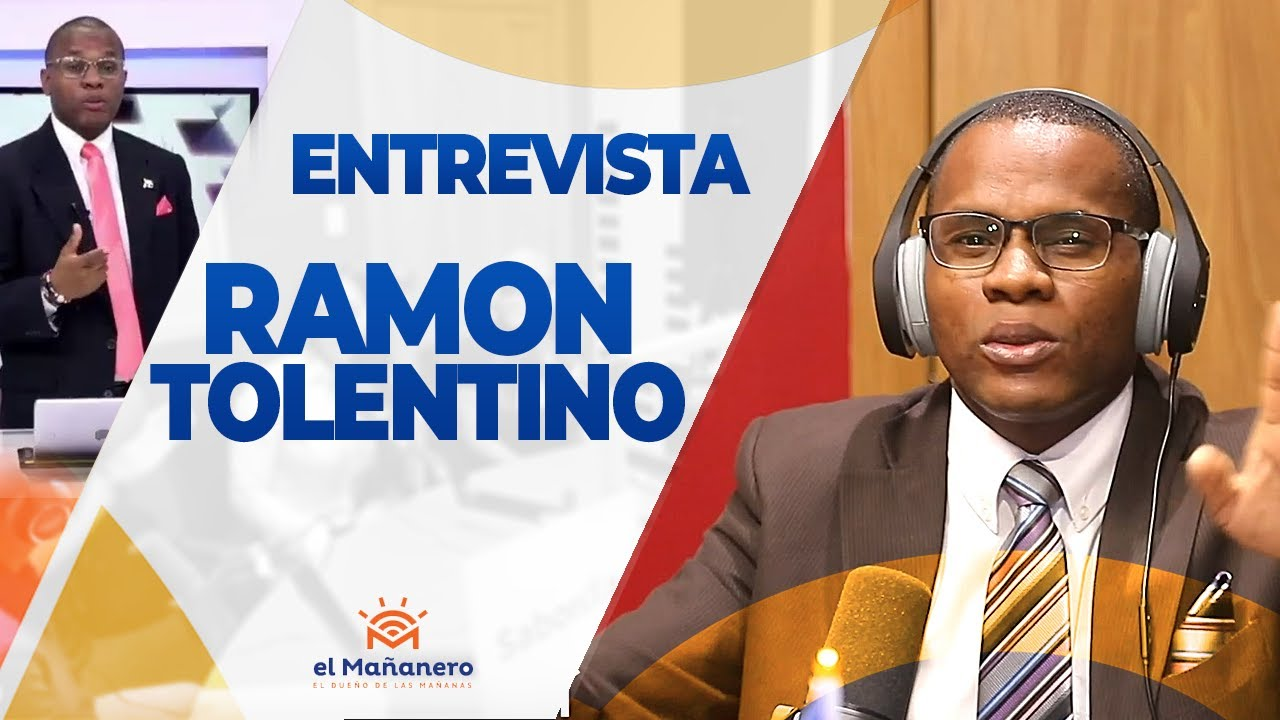 Ramón Tolentino el periodista sensación del momento 2019