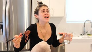 Noodle Mukbang Gone Wrong