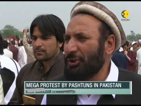 Thousands of Pashtuns protest in Pakistan