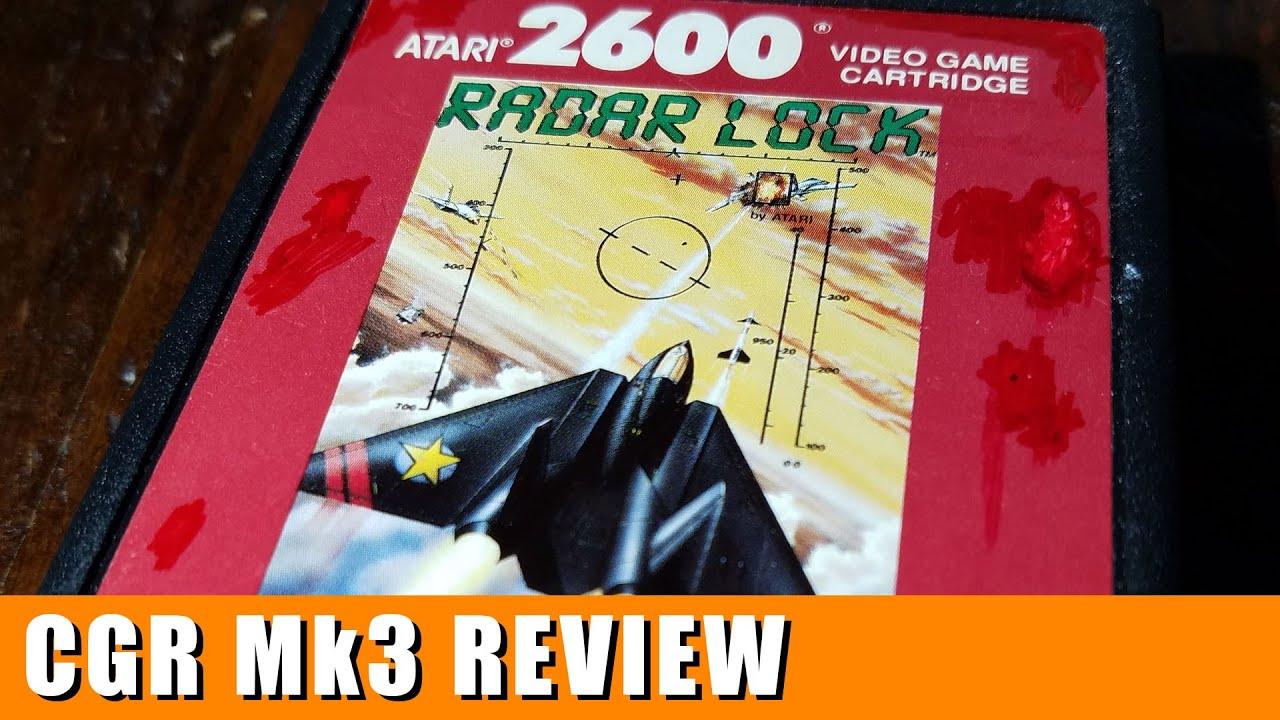 Classic Game Room Radar Lock Review For Atari 2600 Youtube