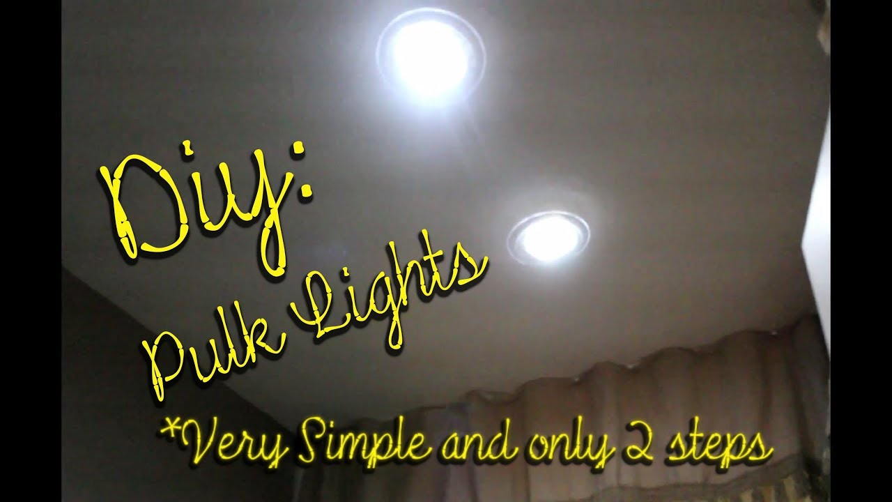 DIY: Lights For Your Shower or Bath Tub. featuring PULK LIGHTS - YouTube