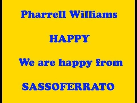 We are happy from Sassoferrato