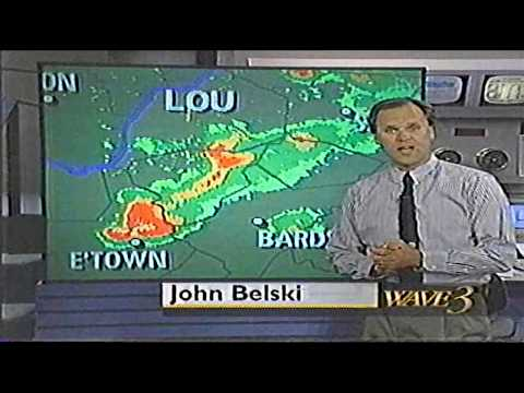 WAVE 3 Weather Cut In Compilation Louisville KY April 1995