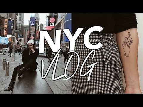 soho, my first tattoo, midtown, etc. // nyc vlog